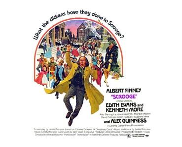 Η αφίσα του πετυχημένου και απολαυστικού μιουζικαλ που βασίζεται στην αγαπημένη ιστορία του Ντίκενς