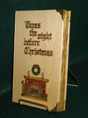 _Twas the Night Before Christmas Book (front side)