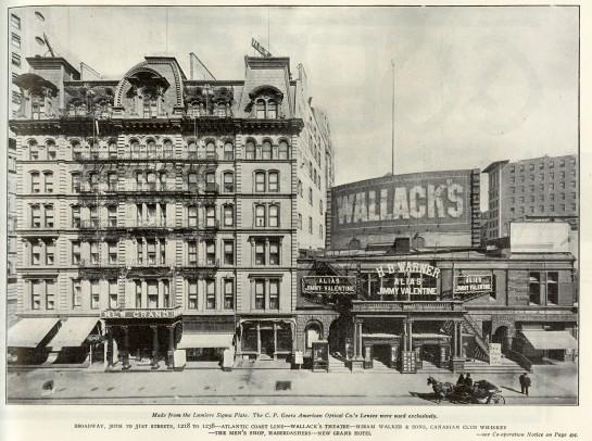 Wallack's_Theatre_(right)_and_New_Grand_Hotel,_New_York,_1910