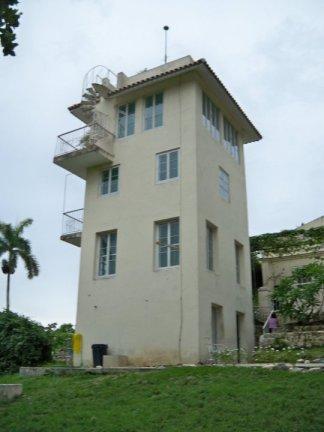 Φωτογραφία που τράβηξε ο ίδιος ο P.A. Pozzi στη Finca Villa, στην Αβάνα