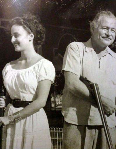 Adriana & Ernest (Club de Cazadores, L'Avana, 1950-51, foto Roberto Herrera Sotolongo)